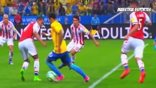 Os melhores dribles do Neymar