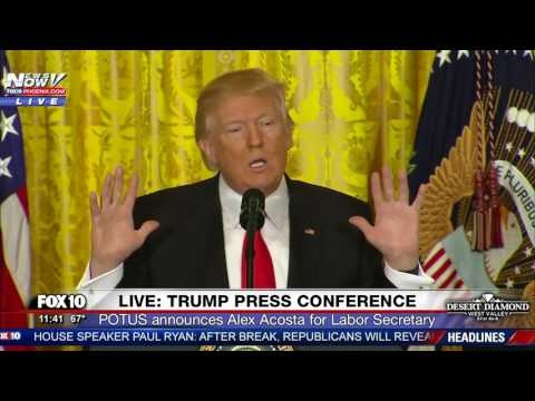 MUST WATCH President Trump Takes ON CNN Reporter Jim Acosta During Press Conference FNN