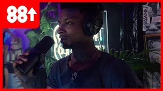 21 Savage Gives Zero Fucks, Freestyles Over Guwop Bootleg Beat