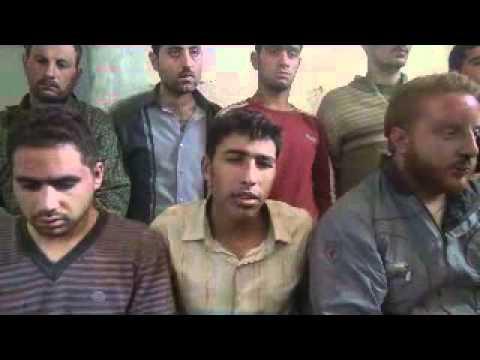 إدلب معرمصرين القبض على 13 شبيح ج1