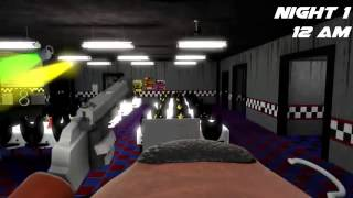 FNAF SFM Free Roam Freddy's   Animatronic Mode