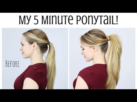 Xxx Mp4 My 5 Minute Ponytail Routine 3gp Sex