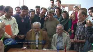 پشت صحنه فیلم نقش نگار همراه با ناصر ملک مطیعی ساخته علی عطشانی