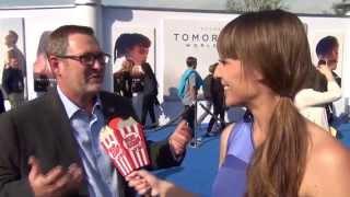 Tom Peitzman at the Tomorrowland Premiere