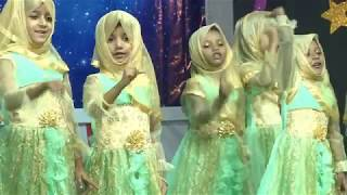 PEACE PUBLIC SCHOOL. Annual Day 2017. Nasheed : Pillars Of Islam. By Students Of Sr.KG