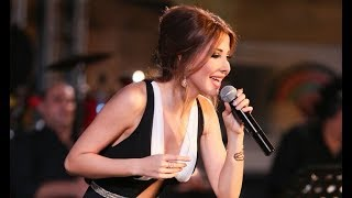 Nancy Ajram Jarash Festival 2017 نانسي عجرم مقاطع حفلة مهرجان جرش