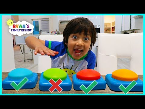 Don t Push The Wrong Button Challenge with Ryan s Family Review