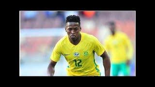 Farouk Khan is delighted by Bafana's Luther Singh, Percy Tau, Phakamani Mhlambi, Bongani Zungu an...