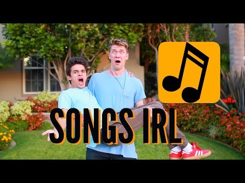 Songs In Real Life 2! (w/ Collins Key) | Brent Rivera