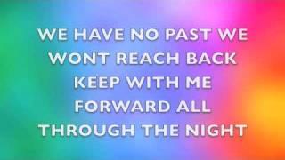 All through the night lyrics