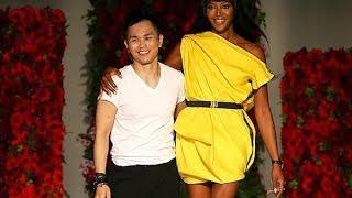 Naomi Campbell on Singapore catwalk at Digital Fashion Week
