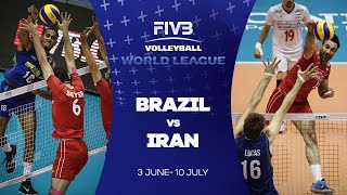 FIVB - World League: Brazil v Iran highlights