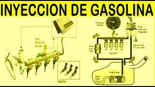 Sistema de inyeccion de combustible (4 diseños basicos)