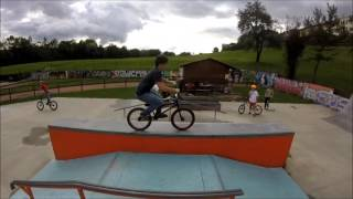 BMX EDIT - X_AUTHORITY skatepark Mel - Hermann Benincà