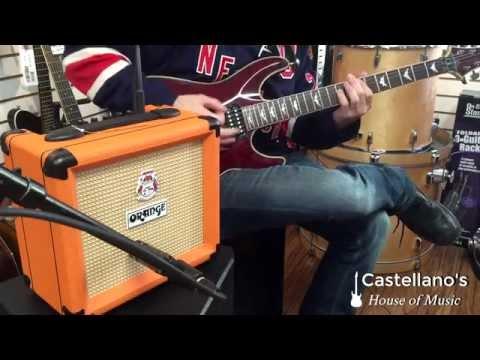 Orange Crush CR-12L Amp Demo