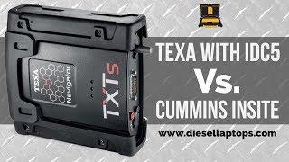 Diagnostic Tools Compared: TEXA vs Cummins Insite on a CM2350