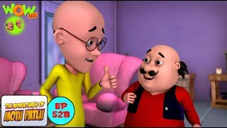 Tution Teacher - Motu Patlu in Hindi - ENGLISH & FRENCH SUBTITLES! - 3D Animation Cartoon for Kids