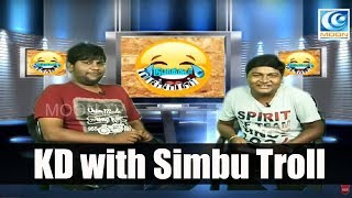 Simbu Interview  I KD with Simbu I Simbu'in Vambu I Dubaagkur Maaghaan's I MOON TV