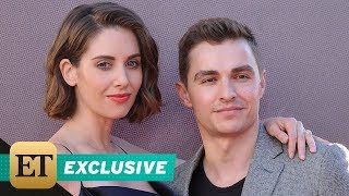EXCLUSIVE: Alison Brie Jokes She Can Put Husband Dave Franco in a