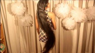 Deep hair oil hair care routine for long hair