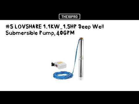 Top 7 Best Submersible Well Pumps