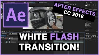 White Flash Transition Adobe After Effects CC 2018
