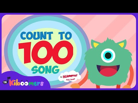 Count to 100 | Counting to 100 Songs for Kindergarten | 100 Dance | The Kiboomers