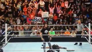 Wwe seth rollins returns on extreme rules 2016