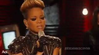 Rihanna Disturbia AOL Session 2010 LIVE (HD)