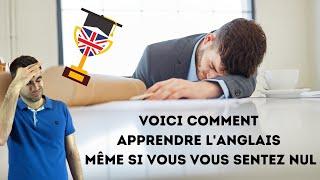 Voici comment apprendre l'anglais même si vous vous sentez nul(le)