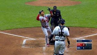 STL@MIL: Diaz and Gyorko lift Cardinals past Brewers