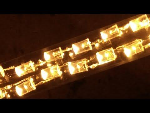 Q&A while making a custom LED lamp.  (storytime)