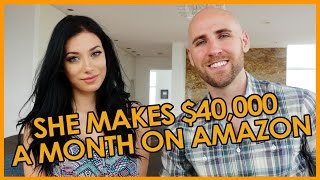 She Makes $40,000 Per Month on Amazon at 23 Years Old