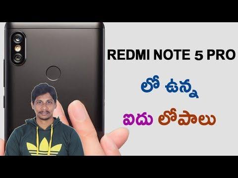 Xxx Mp4 5 Problems With Redmi Note 5 Pro Telugu Tech Tuts 3gp Sex