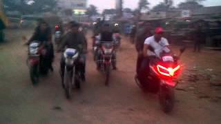 নৌকা মার্কা হোন্ডা মহড়া, দড়িপাড়া জামালপুর