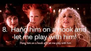 Every Hocus Pocus Quote You'll Need For Halloween