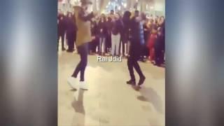 شاهد الآن الجزائريين يرقصون على أنغام الراي في باريس 2018 ✪