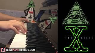 THE X FILES THEME SONG (ILLUMINATI) (Piano Cover by Amosdoll)