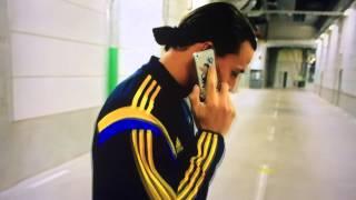 Zlatan Ibrahimović - Govor sa ocem na bosanskom jeziku.