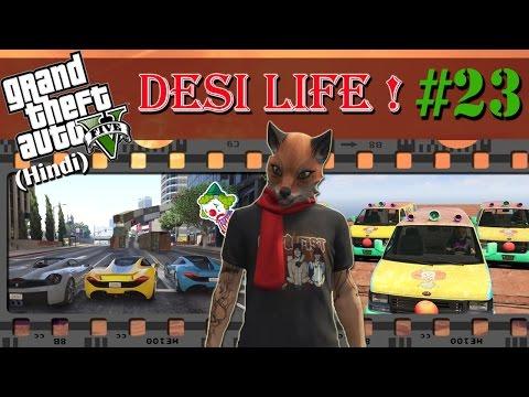 GTA 5 (Hindi) Desi Life #23 - PAGAL JOKER RACE!! (GTA Online)