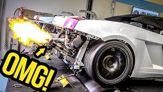 My Cheap Lamborghini Chases BIG POWER On The Dyno (And It Sounds INSANE!)