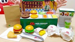 リカちゃん モスバーガー屋さん メルちゃんにお届け / Licca-chan Doll Burger Shop Toy