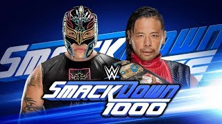 WWE SmackDown Live 1000 Reactions