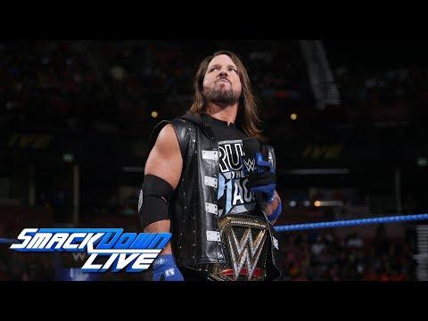 Xxx Mp4 Samoa Joe Sends AJ Styles Into A Rage SmackDown LIVE Aug 14 2018 3gp Sex