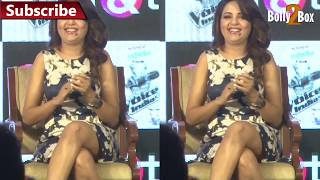 Sugandha Mishra at The Voice India Kids Show Launch | Bolly2box