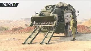 القوات الروسية تواصل إزالة الألغام في حلب باستخدام الروبوت أوران-6