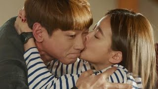 Jong Ji Hoon ♥ Oh Yeon Seo, suddenly kiss 《Come Back Mister》 돌아와요 아저씨 EP13