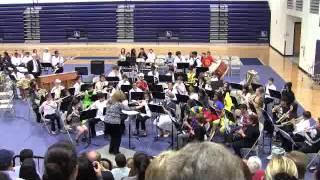 10-22-13 Hornedo Middle School Band Halloween Concert 2