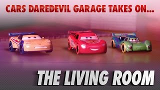 Disney Pixar Cars | The Die-cast Series Ep. 7 | Takes on the Living Room