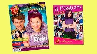 los descendientes la Revista y posters de la pelicula de regalo